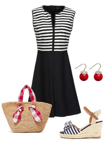 Морской бриз - сеты модной одежды