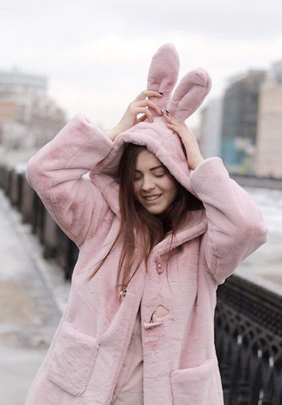 Модный образ в стиле Пижамный pinky