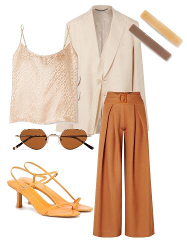 Warm Palette - сеты модной одежды
