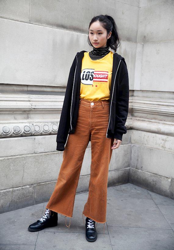 Модный образ в стиле casual casual look