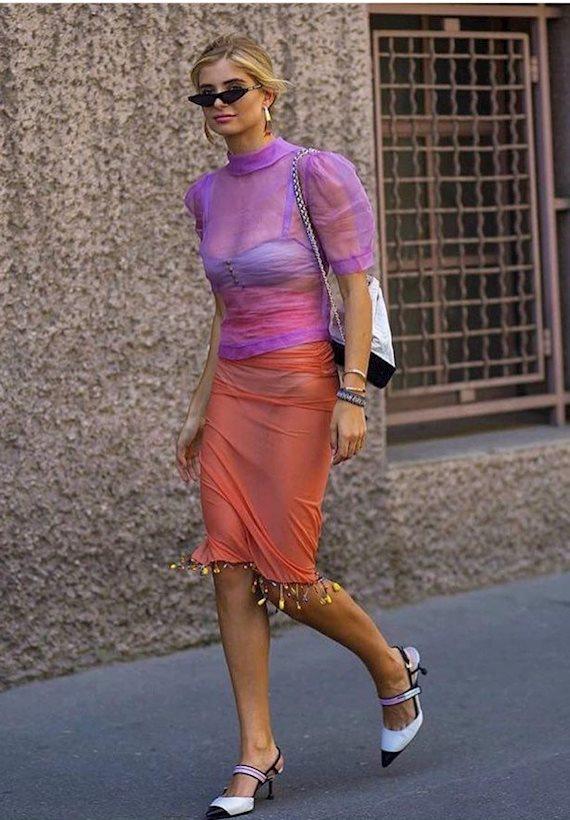 Модный образ в стиле Романтический blouse
