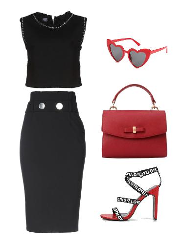 Летний офис - сеты модной одежды