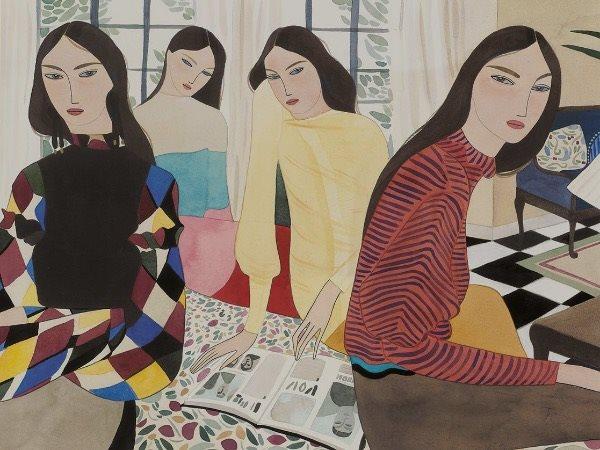 Мода и искусство: Современные fashion-иллюстраторы