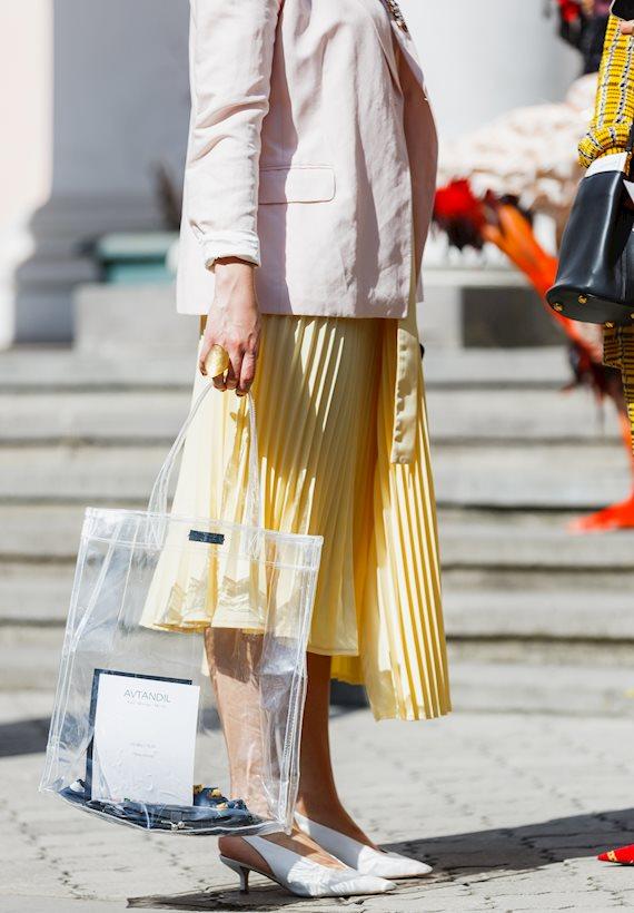 Модный образ в стиле Романтический shopper bag