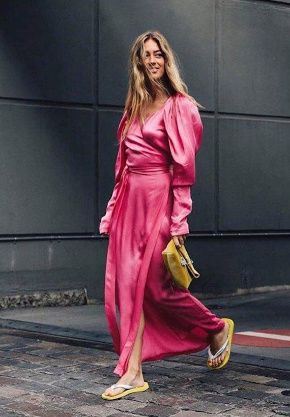 Модный образ в стиле Пижамный summer dress