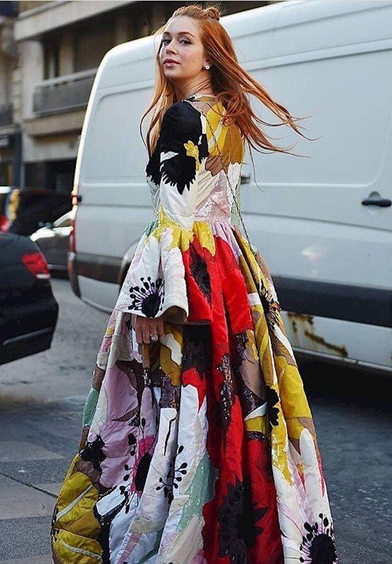 Модный образ в стиле Ретро maxi dress
