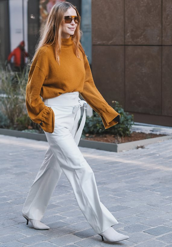 Модный образ в стиле casual city vibes