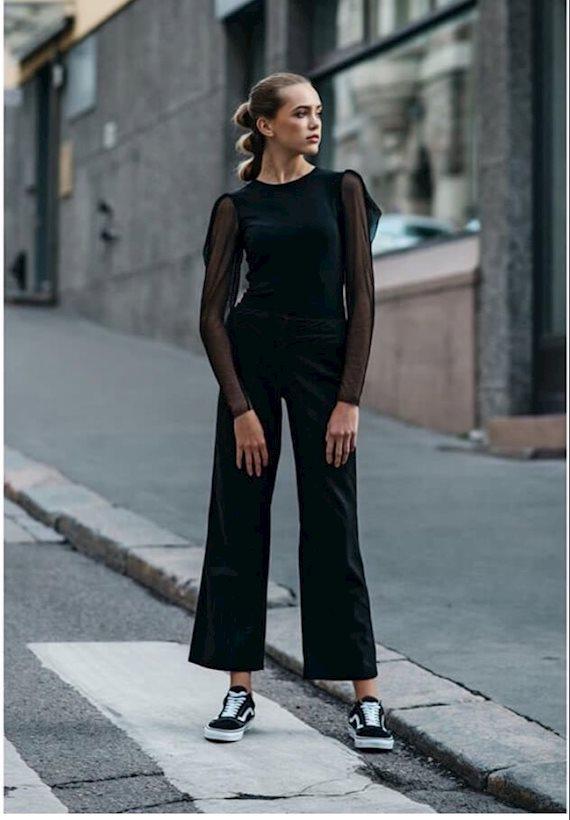 Модный образ в стиле минимализм Helsinkifashionweek