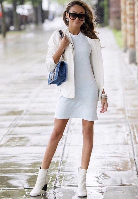 Модный образ в стиле минимализм ▫️◽️◻️