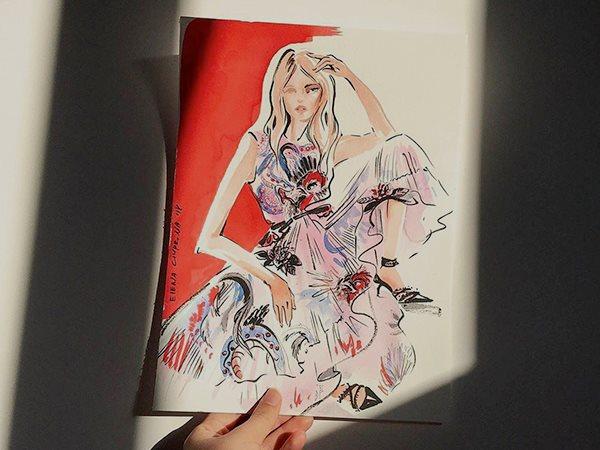 7 вопросов fashion-иллюстратору Елене Чуприной
