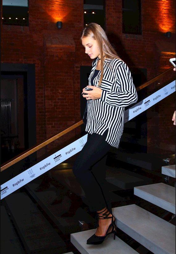 Модный образ в стиле Пижамный Striped