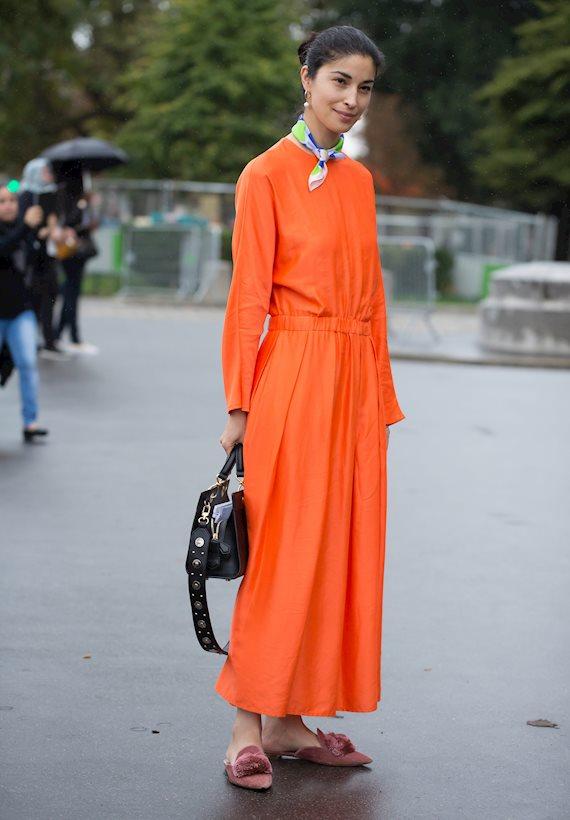 Модный образ в стиле Итальянский maxi dress