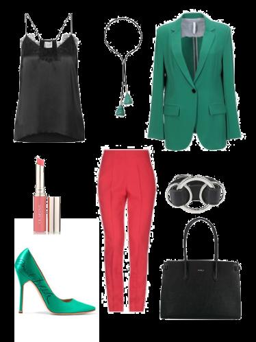 Coral green - сеты модной одежды