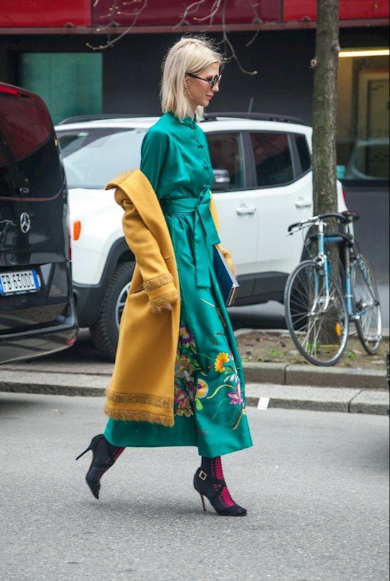 Модный образ в стиле Итальянский colorful look