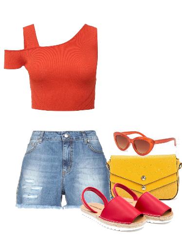 Скоро лето - сеты модной одежды