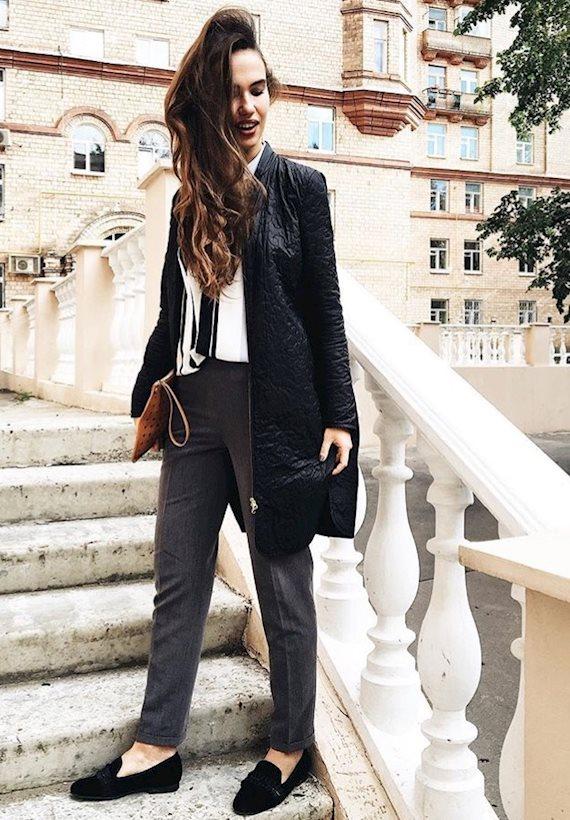 Модный образ в стиле business casual Business casual