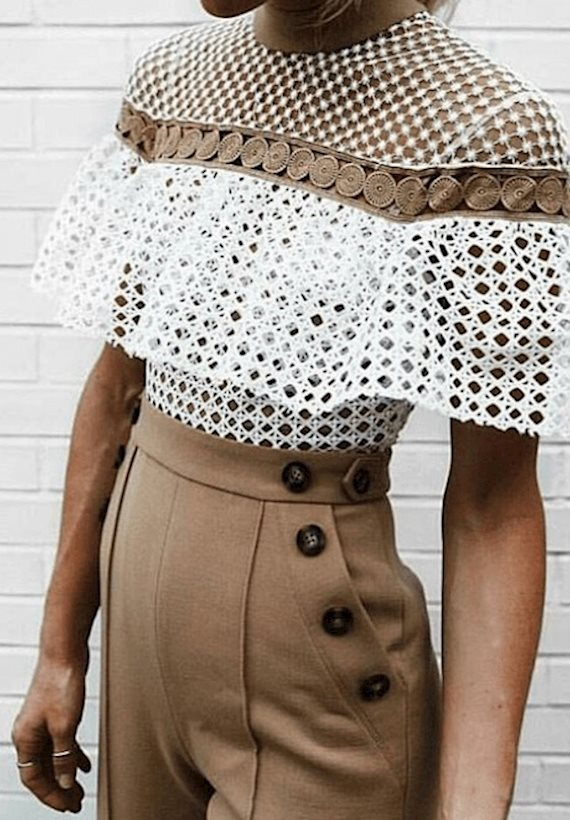Модный образ в стиле Кантри Беж