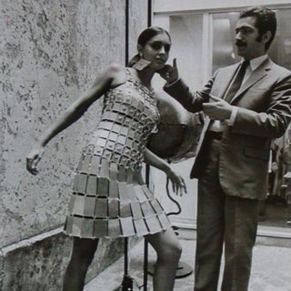 Выставка Paco Rabanne в Париже