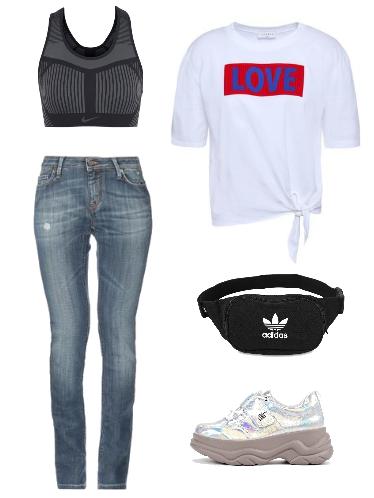 Собираемся на прогулку - сеты модной одежды