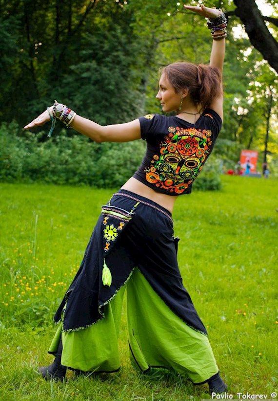 Модный образ в стиле Этно Этно-детка