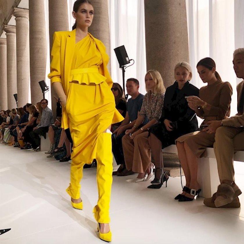 Новый черный: Желтый для весны