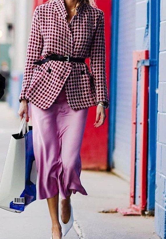 Модный образ в стиле гламур Glam