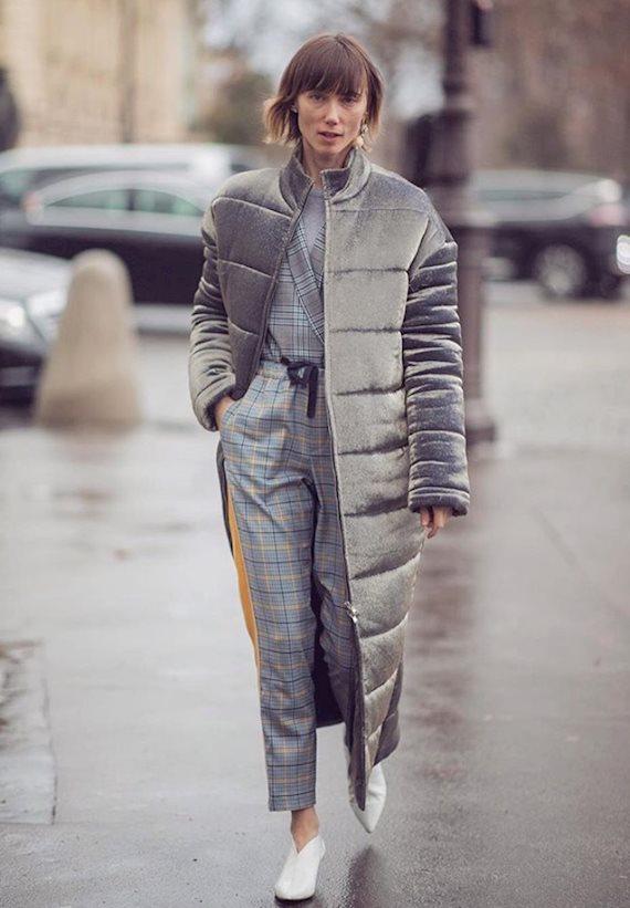 Модный образ в стиле casual Grey coat