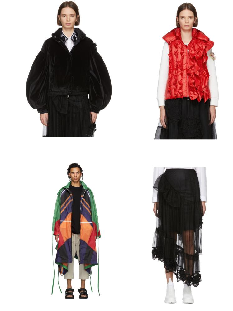 Unusual Moncler - сеты модной одежды