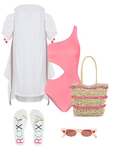 Собираемся на пляж - сеты модной одежды