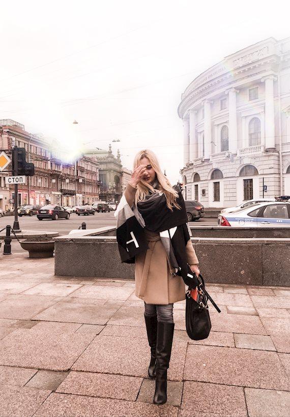 Модный образ в стиле Street style SPB vibes