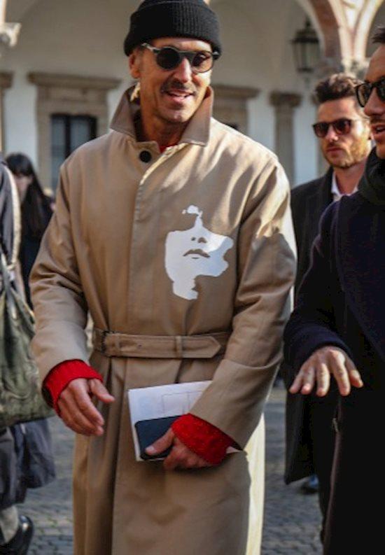 Модный образ в стиле casual trench coat