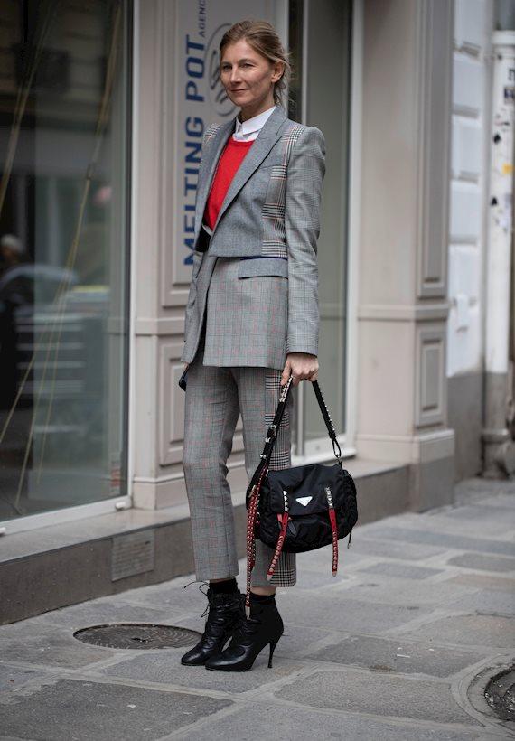 Модный образ в стиле Деловой suit
