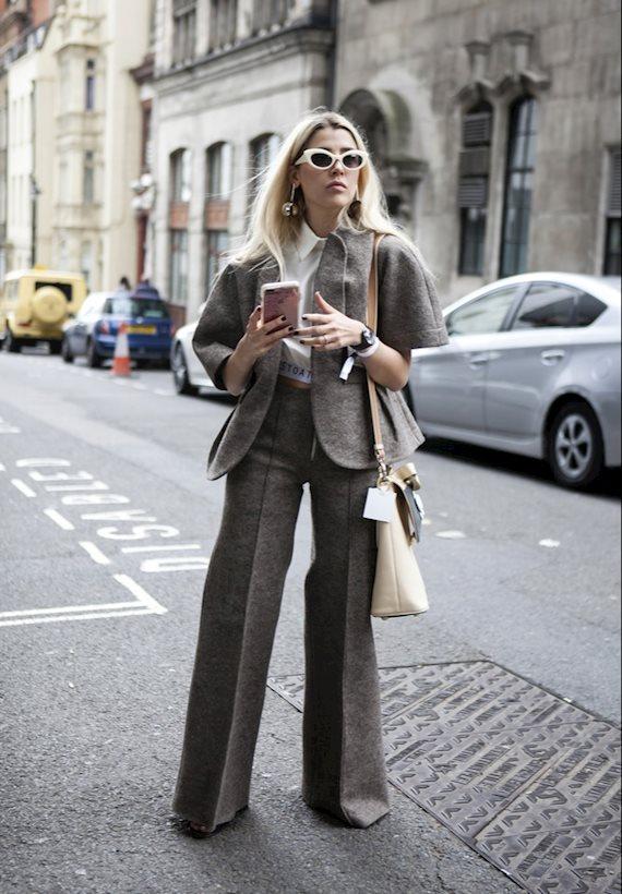 Модный образ в стиле Деловой casual look