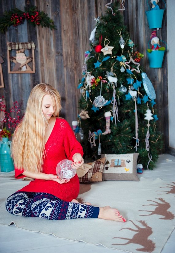 Модный образ в стиле Пижамный Merry Christmas