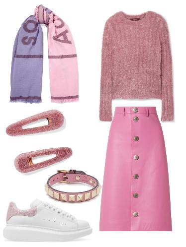 Think Pink - сеты модной одежды