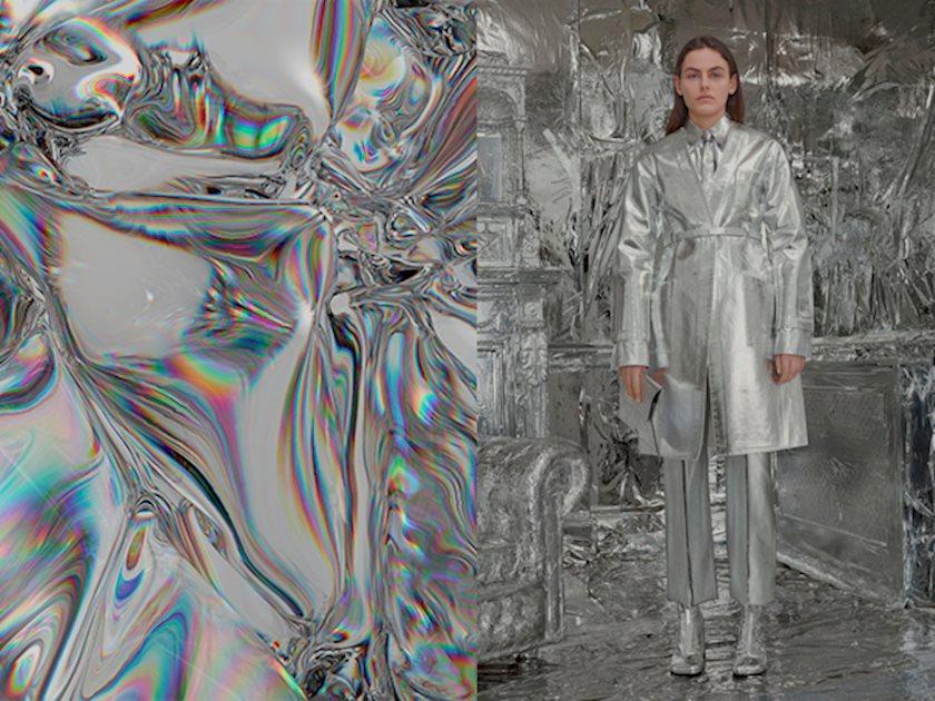 Блестящий тренд: Фольга, серебро и холодный металл