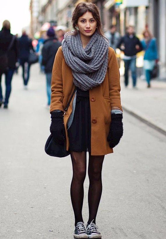 Модный образ в стиле Итальянский Autumn Street look