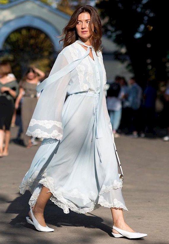 Модный образ в стиле минимализм dress