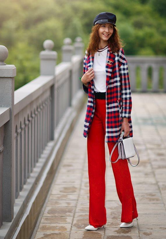 Модный образ в стиле Классический 80