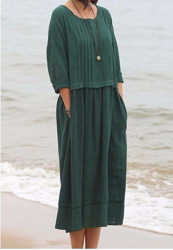 Модный образ в стиле Кантри платье