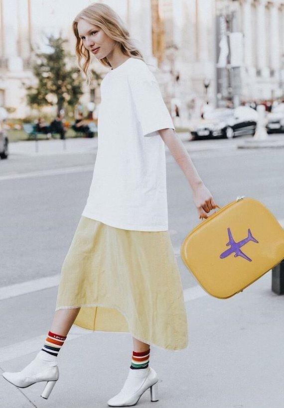 Модный образ в стиле Travel Travel look✈️