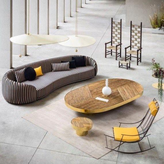 Деко-тренд: комната от Fendi на Design Miami'17