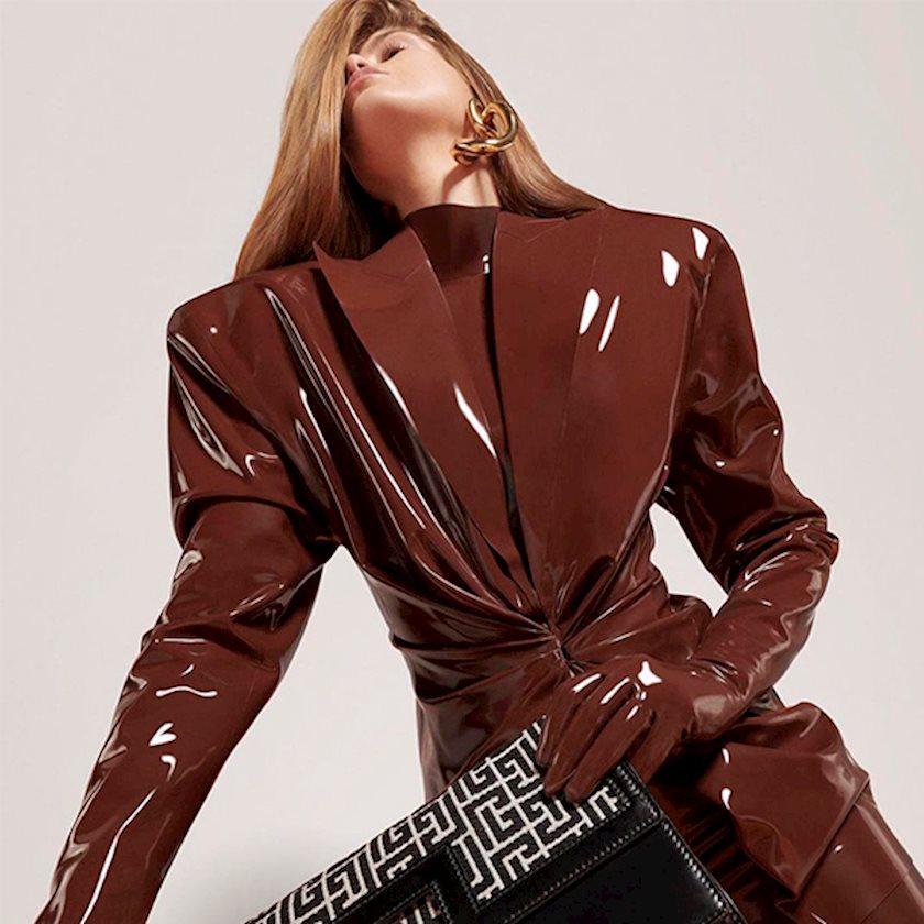 Зимний гардероб 2020: Кожа, латекс и плюш