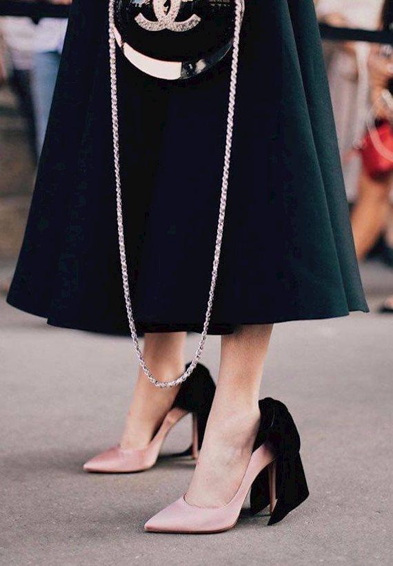 Модный образ в стиле городской шик glam