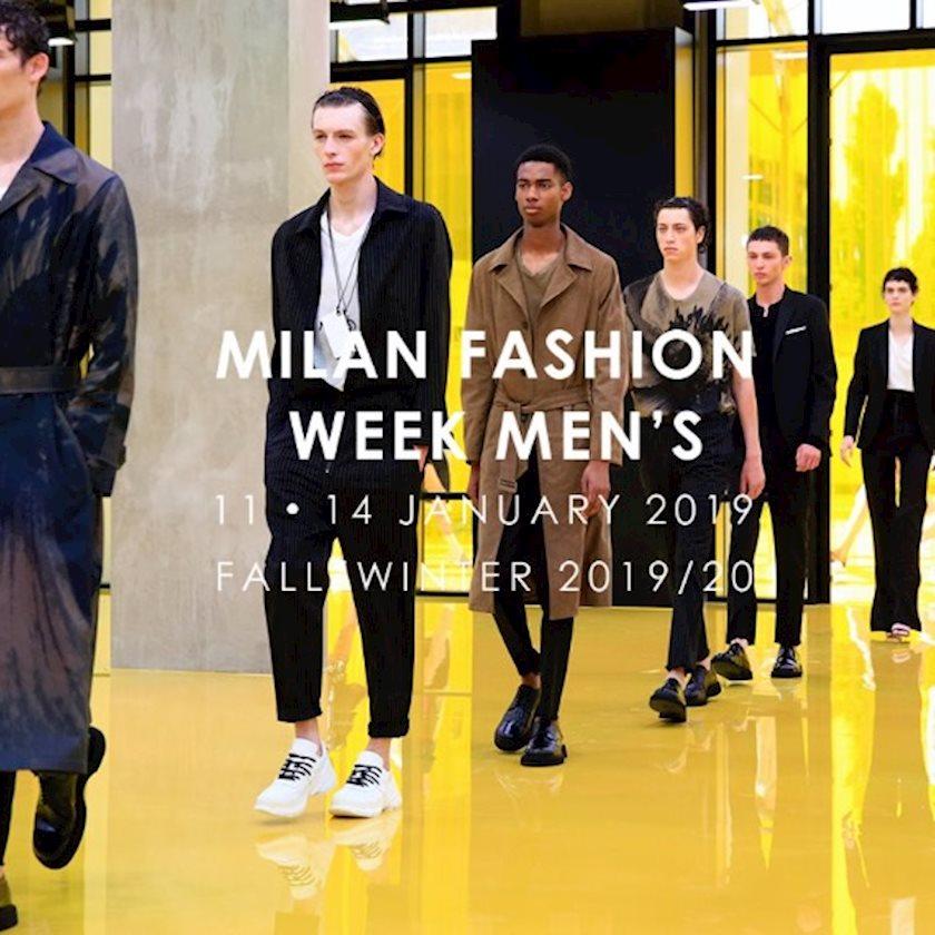 Неделя мужской моды в Милане'19
