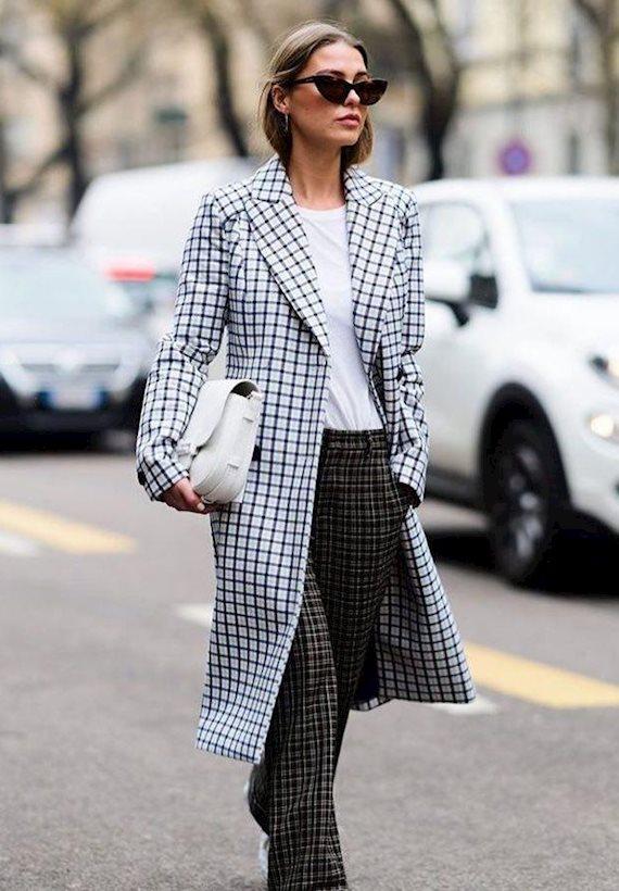 Модный образ в стиле Деловой coat