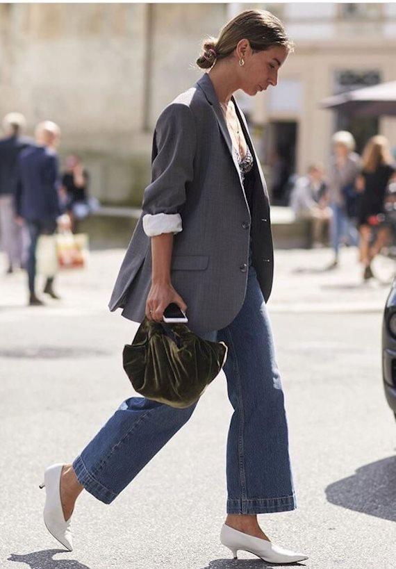 Модный образ в стиле business casual Casual