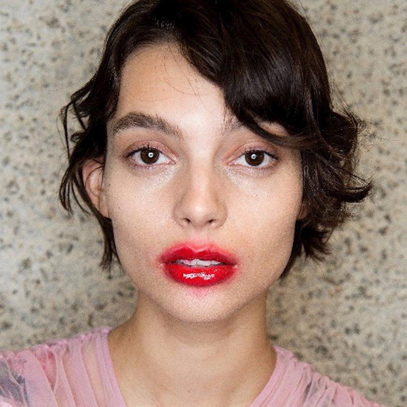 Зацелованные губы