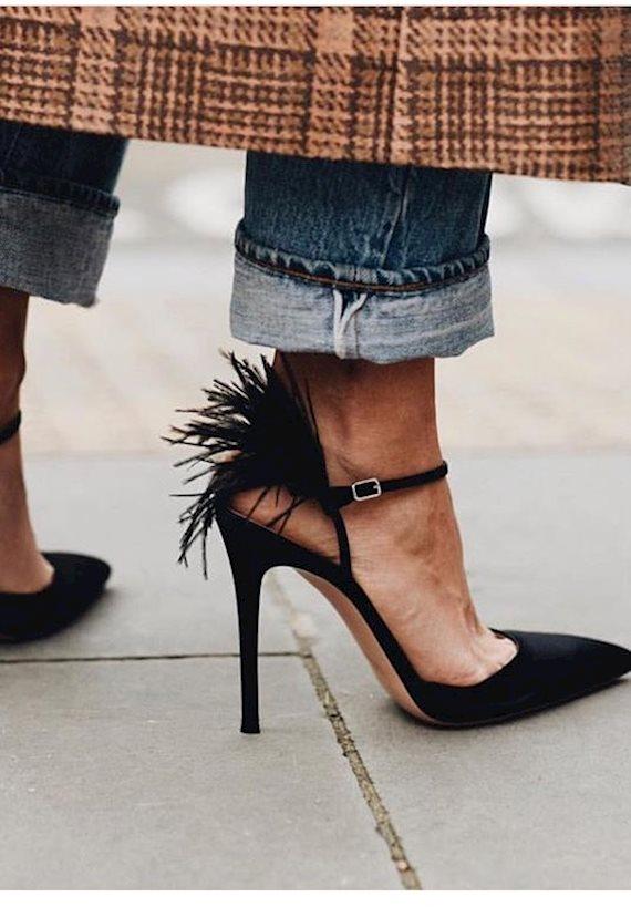Модный образ в стиле гламур Heels