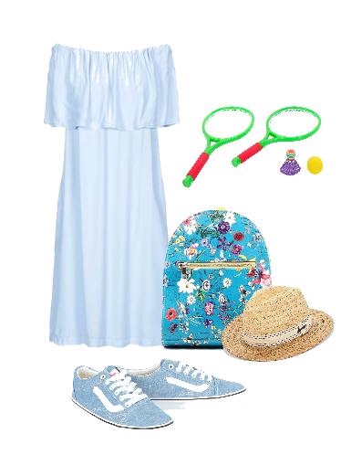 На пикник! - сеты модной одежды
